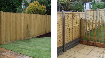 Feather edge Fencing Canterbury